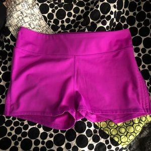 Fabletics Purple Yoga Athletic Booty Shorts XL